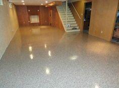 Epoxy Chip Flooring Rockford Illinois