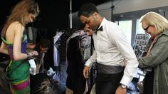 Joleon Lescott at Fashion Kicks 2012