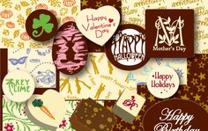 This site can make custom chocolate transfer sheets for your event