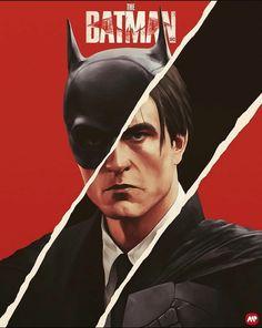 Batman Joker Wallpaper, Batman Artwork, The New Batman, Im Batman, Batman Universe, Comics Universe, Batman Redesign, Batman Painting, Batman Kunst