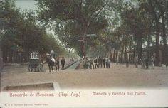 Alameda, Mendoza Antigua