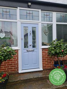 Ludlow Compisite Door. Westcliff-on-Sea Essex Upvc Windows, Windows And Doors, External Cladding, Window Glazing, Window Replacement, Composite Door, House Front Door, Exterior Trim, Wall Cladding