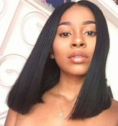 114 Best Blunt Cut Images Straight Haircuts Black Girls