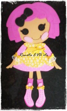 Painel Lalaloopsy 20cm