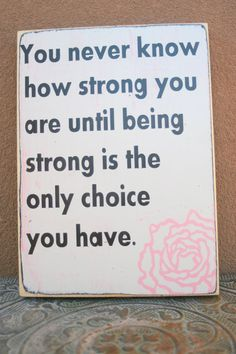 True! Always in pray says be strong to my life