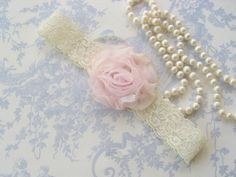 Gentle Pink and Ivory Lace
