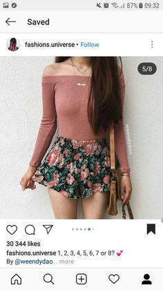 Read More on the Think Positive and Have the BOOK Want these clothes Cute Girl Outfits, Pretty Outfits, Cool Outfits, Summer Outfits, Casual Outfits, Fashion Outfits, Weird Fashion, Fashion Looks, Clothes 2018