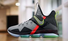 Nike LeBron 14 Release Date. LeBron James debuted the Nike LeBron 14 on Christmas Day. Look for the Nike LeBron 14 to release in 2017 in several colorways. Nike Lebron, Lebron 14, Lebron James, Tenis Basketball, Baskets, High Top Sneakers, Shoes Sneakers, Sneakers Style, Basketball Tricks