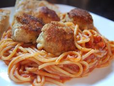 Give your spaghetti and meatballs a makeover and try our recipe for Chicken Parmesan Meatballs. Say goodbye to boring old dinners!