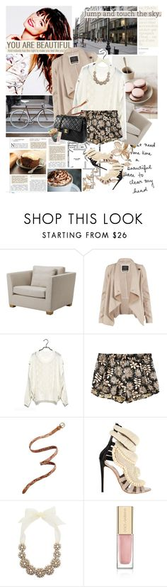 """""""Happy Birthday Ali"""" by are-you-with-me ❤ liked on Polyvore featuring AG Adriano Goldschmied, AllSaints, STELLA McCARTNEY, Madewell, Giuseppe Zanotti, Kate Spade, Chanel, Dolce&Gabbana and Made of Me"""