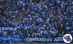 La hinchada de Millonarios se tomó Ibagué City Photo, Blue, Football Team