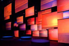 Foscarini Inspire at Superstudio Più, Fuorisalone 2012 Hall Design, Screen Design, Stage Design, Display Design, Booth Design, Interactive Installation, Art Installation, Corporate Event Design, Virtual Studio