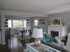 May have pinned this already but this house reminds me of me. Tours: Rancher Remodel