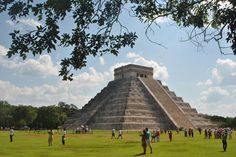 Chichenitza Merida ... Mexico I saw these when I was in Mexico in September. They are amazing!