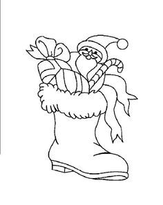 Awesome Coloriage Botte Noel that you must know, Youre in good company if you?re looking for Coloriage Botte Noel Coloring Pages Winter, Santa Coloring Pages, Cat Coloring Page, Christmas Coloring Pages, Free Coloring Pages, Printable Coloring Pages, Coloring Books, Christmas Colors, Simple Christmas