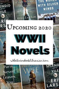 Discover our most anticipated World War 2 novels of 2020 on this WWII reading list. Uncover new YA, historical fiction, biography, nonfiction, and romance for lovers. Best Historical Fiction Books, Books By Black Authors, Holocaust Books, Great Books To Read, Read Books, International Books, Reading Lists, Reading Room, Book Lists
