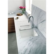 Find Minerva Carrara White Kitchen Worktop - 305 x 65 x at Homebase. Visit your local store for the widest range of kitchens products. White Kitchen Worktop, Kitchen Worktops, Kitchen Cabinets, Hob Splashback, Minerva Worktop, Breakfast Bar Worktop, Kitchen Surface, Solid Surface, Updated Kitchen
