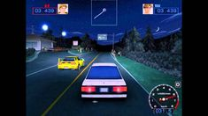 Initial D Mountain Vengeance PC 2004 Gameplay