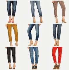 Mix and Match Family: Fifty Two Shades of Shay: Boyfriend Jeans