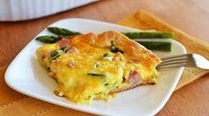 NEW Ham and Asparagus Breakfast Bake