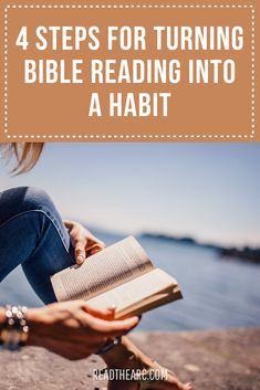 4 Steps for Turning Bible Reading into a Habit