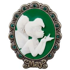 I want this! I collect pins, I love fairy's, I love green, and my birth month is May. I love this collection