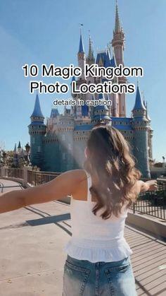 10 Magic Kingdom Photo Locations!🐭✨🎈