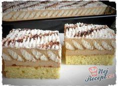 Nejlepší recepty na zákusky (str. 3 z 11)   NejRecept.cz Hungarian Cake, Hungarian Recipes, Puding Cake, Cake Recipes, Dessert Recipes, German Desserts, Buzzfeed Tasty, Cold Desserts, Healthy Breakfast Smoothies