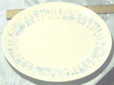 "Vintage Collectible Royal-Ironstone China ""Blue Heaven"" Pattern 13"" Platter"