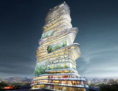 Architektur - Architecture of the future - an innovative project with…