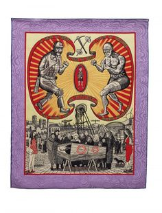 The Most Popular Art Exhibition Ever! Running 8th June – 10th September 2017 at Serpentine Galleries. For his latest exhibition, Grayson Perry has taken over a summertime slot in one of London's most accessible galleries (it's free and in a beautiful park). It will be a major exhibition of new work, touching on masculinity, the current cultural landscape and popularity and art.