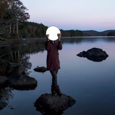 Sadie and the Moon | From a unique collection of color photography at https://www.1stdibs.com/art/photography/color-photography/