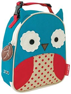 Kids' Lunch Bags - Skip Hop Zoo Little Kid  Toddler Insulated  WaterResistant Lunch Bag Multi Otis Owl * Click image to review more details.