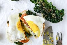 Kale's just better when a fried egg's involved.