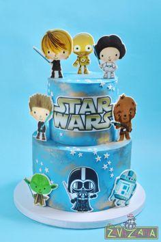 Star Wars Cake by Nasa Mala Zavrzlama
