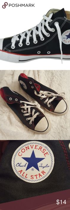 Converse Chuck Taylor's all star shoes Used but still in fair condition Converse Shoes Sneakers