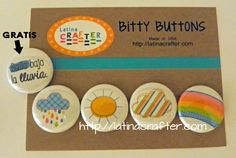Bitty Buttons - Latina Crafter; just found out about this brand; love it!