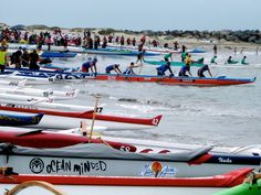 2013 Ventura Channel Challenge outrigger canoe race