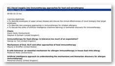 EAACI (@EAACI_HQ) / Twitter Image Newsletter, Learning Objectives, Think On, Nobel Prize, Pediatrics, Twitter Sign Up, Clinic, Insight, Digital