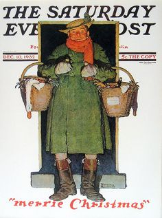 Norman Rockwell - Merrie Christmas - Saturday Evening Post - By: Norman Rockwell - December 10,1932