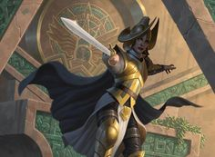 Vampire Champion - Rivals of Ixalan MtG Art My Fantasy World, Dark Fantasy, Fantasy Art, Character Portraits, Character Art, Character Ideas, Character Concept, Character Inspiration, Concept Art
