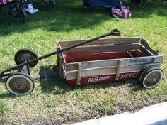 red wagon hot rod radio flyer | Live to Ride Ride to Church: Cool Custom Wagons