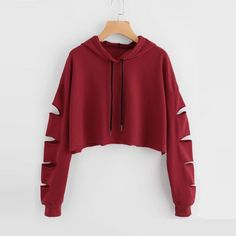 ISHOWTIENDA Fashion cropped hoodie Woman clothes Tops and Blouses Solid High Neck Drawstring Crop sweatshirts moletom feminino - Pullover Fashion Trends 2020 Teen Fashion Outfits, Outfits For Teens, Trendy Outfits, Ladies Fashion, Women's Fashion, Girls Crop Tops, Cute Crop Tops, Teen Tops, Ladies Tops
