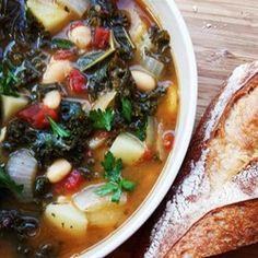 Vegetarian Kale Soup - Allrecipes.com