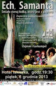 Plakat koncertu Zejmana i Garkumpla