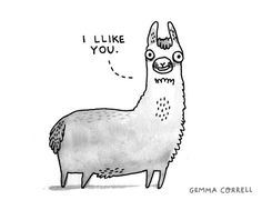 The more Ls the better, eh? (gemma correll)