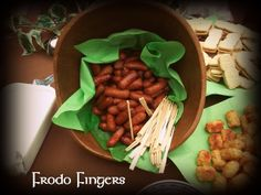 *~my house is cuter than yours~*: Lord of The Rings Party Part III Snacks