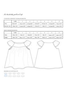 Eloise gathered top PDF Pattern in Sizes 6 mths 1 2 3 4 Cute Outfits For Kids, Cute Kids, Girl Doll Clothes, Babies Clothes, Sewing For Kids, Sewing Ideas, Popular Girl, Pattern Paper, Print Patterns