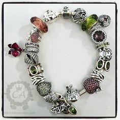 pandora orchid bracelet - Google Search