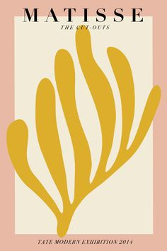 Graphic Design Discover Matisse Henry Matisse - The Cut Outs Matisse Kunst, Matisse Art, Henri Matisse, Matisse Prints, Illustration Blume, Plakat Design, Poster Layout, Poster Ideas, Exhibition Poster